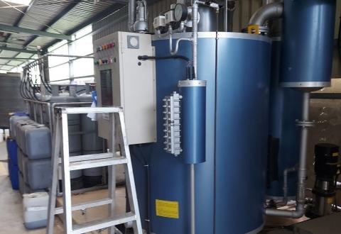 BJB-2000蒸氣鍋爐年度保養
