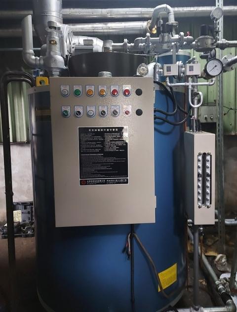 蒸氣鍋爐換新1