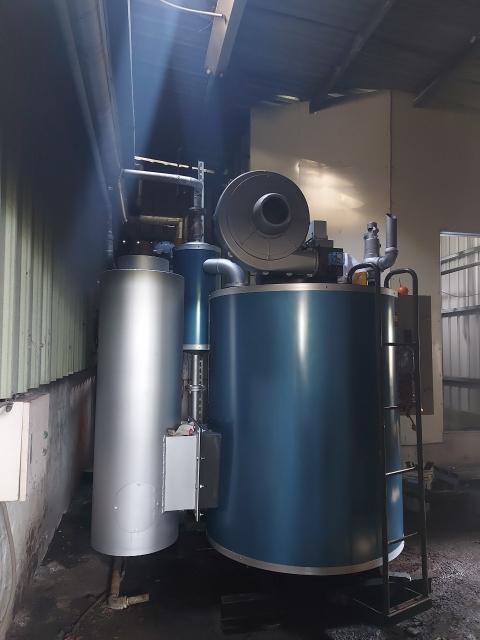 蒸氣鍋爐換新2